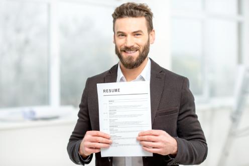 Employe avec un CV créé sur ExpressCV